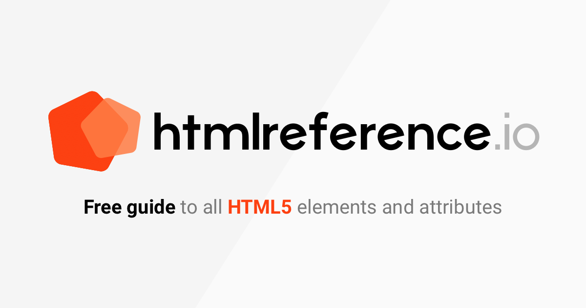 html reference a free guide to all html elements and attributes rh htmlreference io valign html quick reference guide html code reference guide